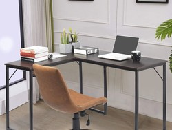 Add this GreenForest L-Shaped Computer Desk to your office at a $20 discount