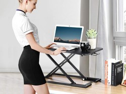 Make your work environment healthier with this GreenForest Standing Desk Riser at a $44 discount