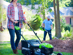 Spruce up your lawn with up to 40% off Greenworks home improvement essentials today