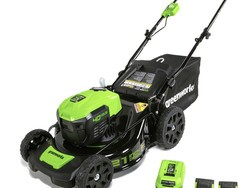 Cut the grass with Greenworks' $195 brushless cordless mower