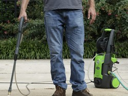 This one-day deal brings the 1700 PSI Greenworks Pressure Washer to $70