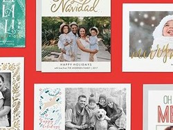 Receive 60% off holiday greeting cards at Amazon Prints