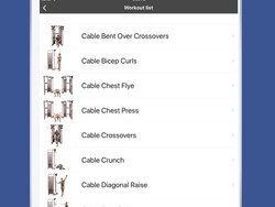 Get the free Gymster+ iOS app to track and manage your workouts & dieting