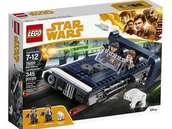 Build this 345-piece Lego Star Wars Han Solo's Landspeeder kit for $25
