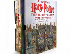 Share the magic of Harry Potter with the $57 Illustrated Collection set
