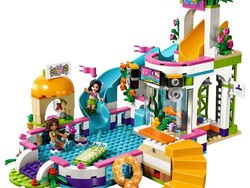 Keep warm weather around with the $36 Lego Friends Heartlake Summer Pool building set