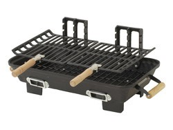 This Marsh Allen cast iron Hibachi charcoal grill is down to $30
