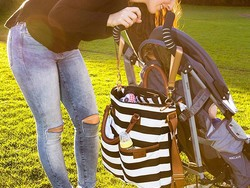 Save on these stylish Hip Cub Diaper Bags through the end of the day