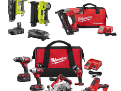 Home Depot's one-day sale offers deals on nail guns, drills, air compressors and more