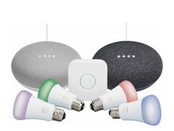 Get two Google Home Minis for free with this discounted Philips Hue Starter Kit