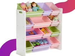 Grab the Honey-Can-Do Kids Toy Organizer for $34