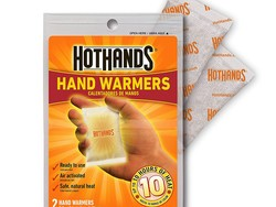 Stay toasty with 20 HotHands Hand Warmers for $8