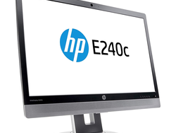 The $180 HP EliteDisplay 23.8-inch Monitor offers a built-in webcam, mic, and speakers