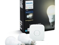 This Philips Hue 2-bulb white starter kit is down to $55 today
