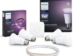 Get a 4-bulb Philips Hue color starter kit and LightStrip Plus for just $200