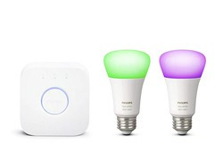 Kick off your Philips Hue obsession with this $102 two-bulb colour starter kit
