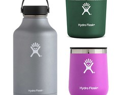 Drink up with 50% off a variety of Hydro Flasks