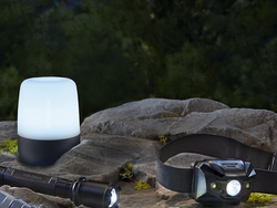 Light up your yard with dimmable lanterns by Insignia for just $7 each