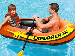 Prep for summer waves with this $10 Intex 2-person Inflatable Boat