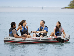 Prepare for summer waves with this one-day sale on Intex inflatable boat sets