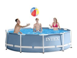 Escape the summer heat with this $80 Intex 12-foot round above ground pool