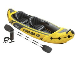 This inflatable Intex 2-person kayak is down to $59 today only