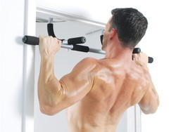 Do pull-ups anywhere with the $18 Iron Gym Total Upper Body Workout Bar