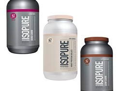 Isopure protein powders are 25% off today at Amazon