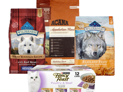 Treat your pet with 30% off select dog and cat food at Jet