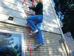 Climb out your window with the $22 Kidde Two-Story Fire Escape Ladder