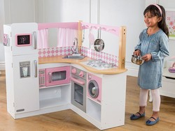 Your kids are going to love this $100 KidKraft Grand Gourmet corner kitchen