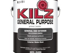 Your local Walmart might have gallons of Kilz General Purpose Exterior Latex Primer for only $5