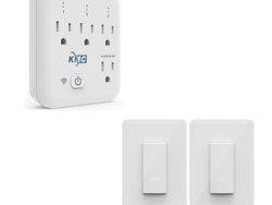 Smarten up your existing lights and appliances with up to 50% off KMC outlets and switches
