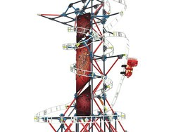 This $28 K'Nex Thrill Rides Web Weaver set will let kids build a rollercoaster