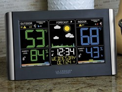 Keep an eye on storm fronts with this $34 La Crosse Technology forecast station