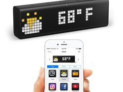 Keep an eye on more than just the time with the LaMetric Time smart Wi-Fi clock