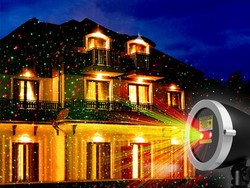 Get the $42 1byone Christmas laser Light Projector and get into the Christmas spirit