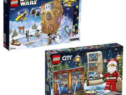 Pick up this year's LEGO Star Wars or LEGO City Advent Calendar at a discount