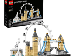 Build the London Skyline brick-by-brick with this $32 Lego Architecture set
