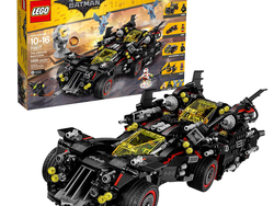 Clear Gotham's crime-ridden streets with this discounted Lego Batman Movie Ultimate Batmobile set