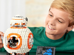 Build a detailed model of BB-8 from Star Wars with this $80 Lego set