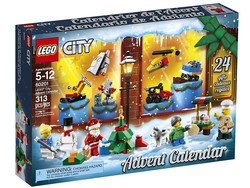 The $22 Lego City Advent Calendar will surprise and delight your kids