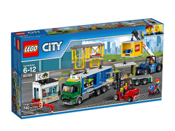 The Lego City Town Cargo Terminal set is down to just $49 today
