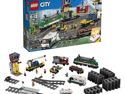 Don't let this $37 discount on the Lego City Cargo Train leave the station without you