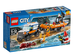 Save the day with the $25 Lego City Coast Guard 4 x 4 Response Unit set