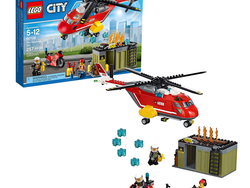 Piece together the Lego City Fire Response Unit set for $28