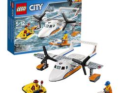 Play Coast Guard with this $12 Lego City Sea Rescue Plane kit