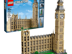 The highly-detailed Lego Creator Expert Big Ben set is $50 off today