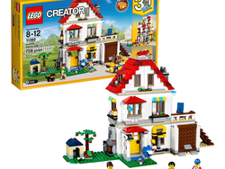 Play house with the 3-in-1 Lego Creator Modular Family Villa set for $50