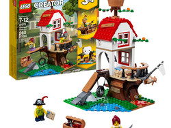 Build a pirate ship with the 3-in-1 Lego Creator Treehouse Treasures set for $20